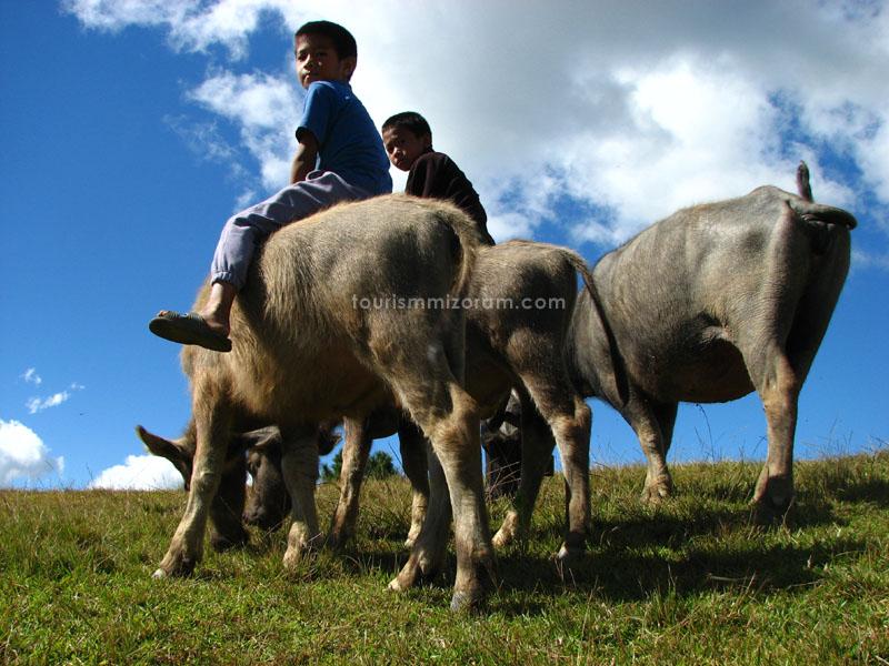 Mizoram, North East India
