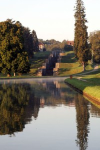 Seven Locks at Rogny-les-Sept-Ecluses