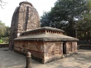 Parasurameswar temple with linga