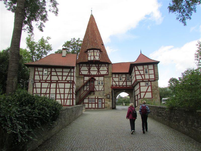 A Town Gate - Iphofen