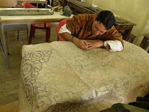 A diligent art student