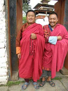 Friendly monks