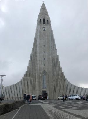 Reykjavek, Iceland, Hallgrimskiekja Lutheran church