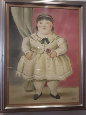Botero Museum Painting