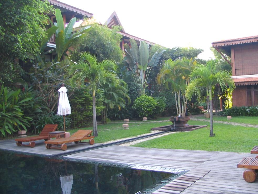 Garden, La Residence Sien Riep