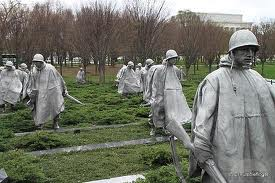 The Korean War Veterans Memorial, Washington, DC