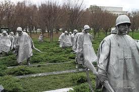 The Korean War Veterans Memorial, Washington, DC