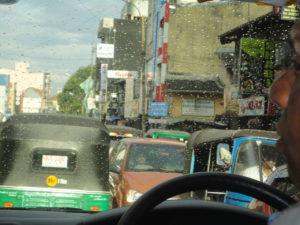 Colombo Traffic Jam