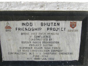 Bhutan Friendship Project