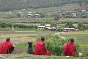 Monks - Bhutan Travel