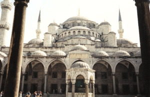 Turkey Sightseeing: The Blue Mosque