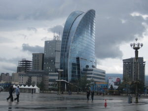 Visit Mongolia to see the Blue Sky Tower
