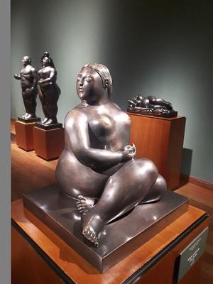 Botero Museum Sculpture