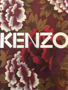 Fashion design - Kenzo clothing