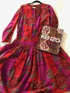 Fashion - Kenzo clothing flower dress