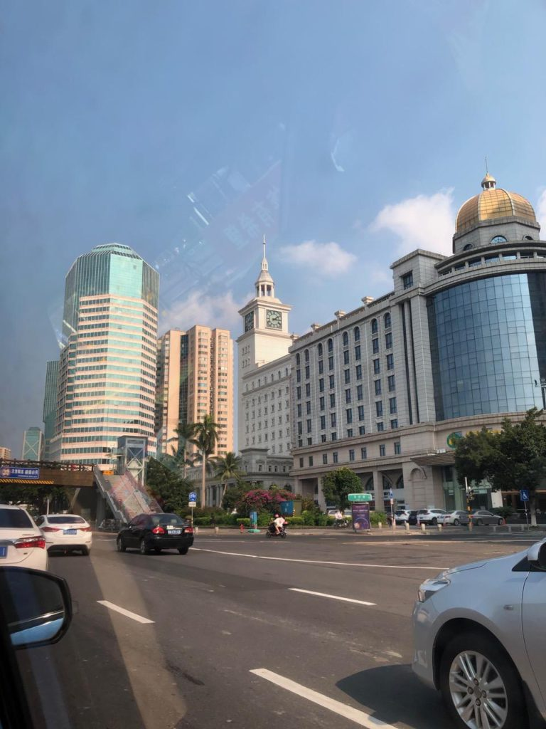 Haikou, Hainan, city's main street