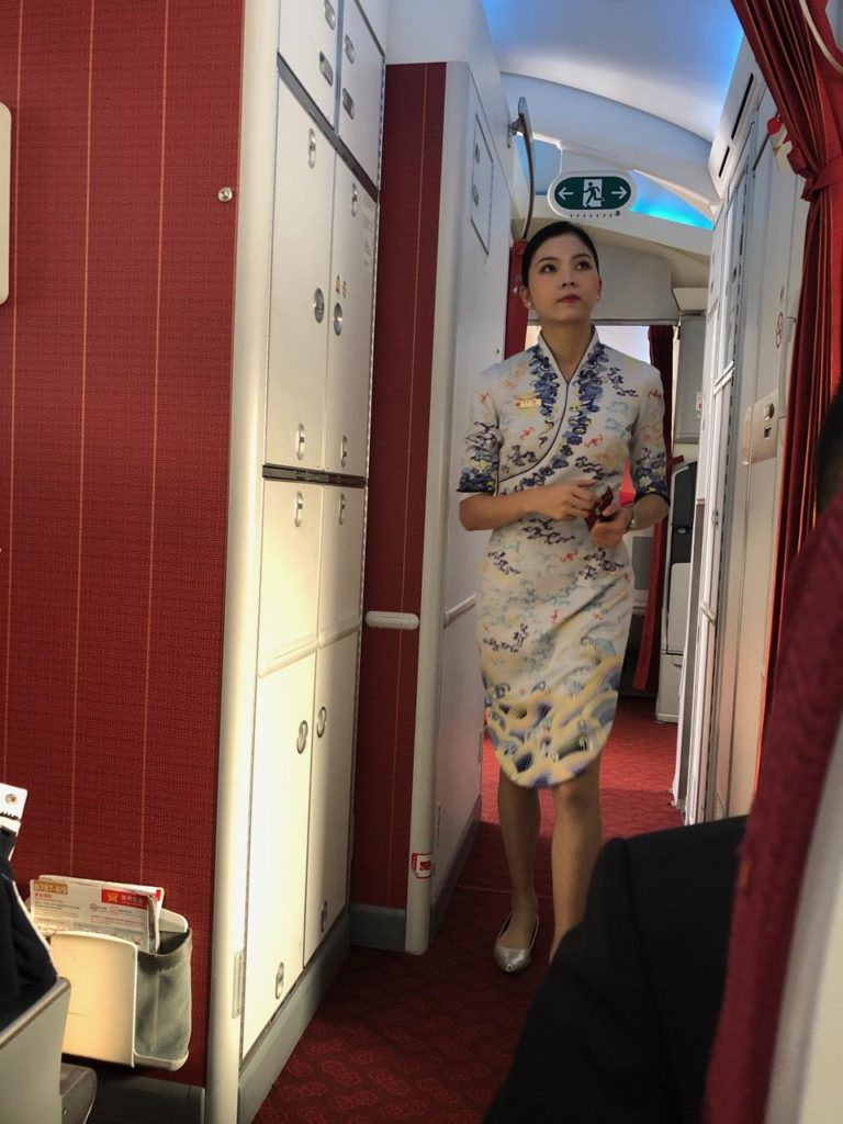 WONDERFUL UNIFORMS FOR THE FINE HAINAN AIRLINES
