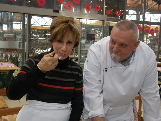 me and chef